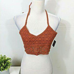 FREE PEOPLE Intimately Sydney Crochet Bralette NWT